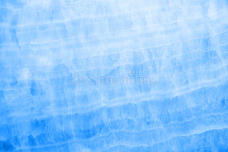 Onyx de marbre bleu photographie stock libre de droits