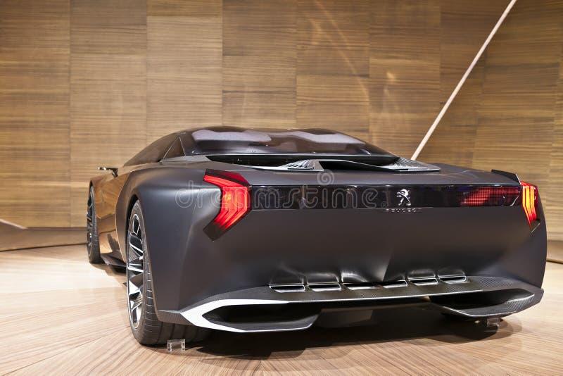 Onyx de Peugeot fotografia de stock royalty free