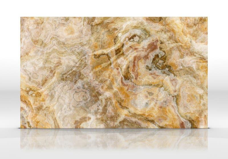Onyx marmorerar tolkningen för tegelplattatextur 3D royaltyfri foto