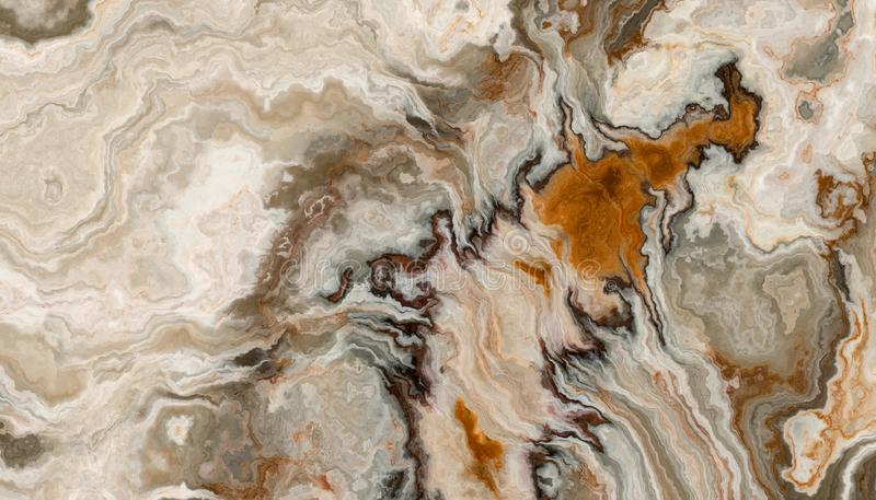 Onyx Tile background. The tile of abstract onyx background with wavy pattern. 2D illustration. Natural beauty stock photo