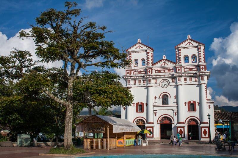Onze Dame van Carmen-kerk stock foto's