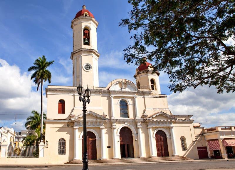 Onze Dame van de Onbevlekte Ontvangeniskathedraal, Cienfuegos, Welp royalty-vrije stock fotografie