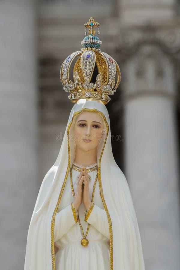 Onze Dame van Fatima - Archbasilica van St John Lateran stock foto's