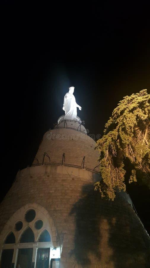 Onze Dame van Libanon royalty-vrije stock fotografie