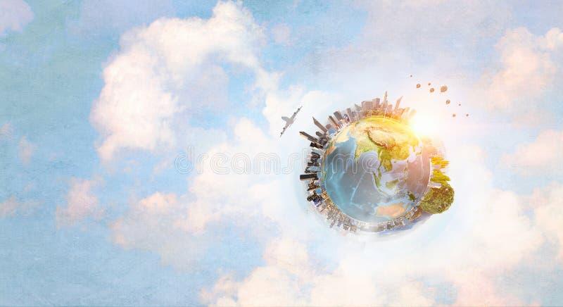 Onze grote wereld royalty-vrije illustratie