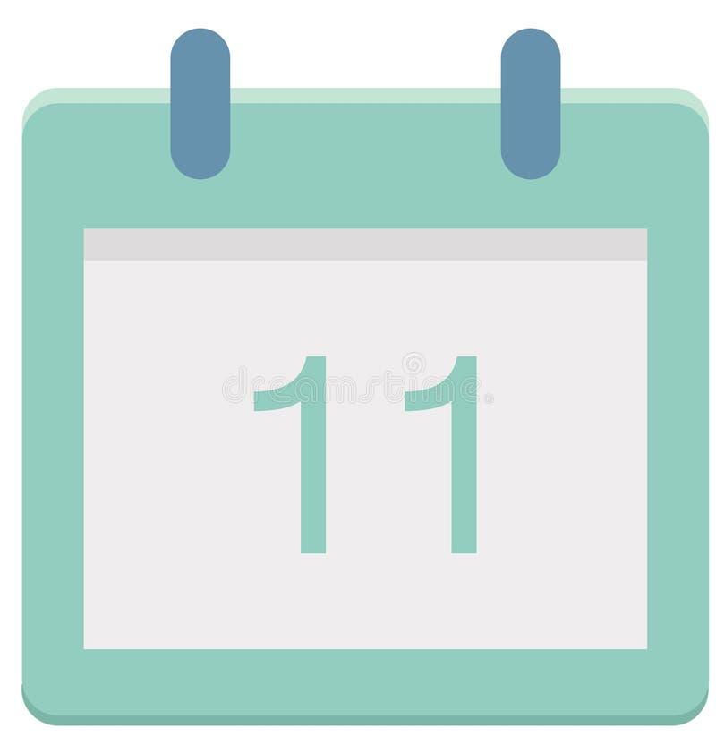 Onze, icône de vecteur de jour de l'événement 11 spécial qui peut être facilement modifiée ou éditée illustration stock