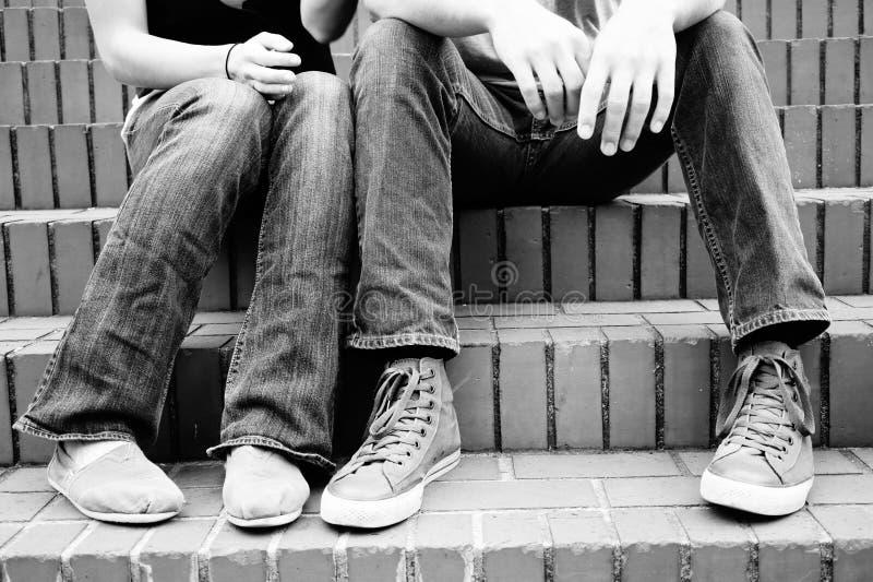 Onze voeten stock afbeelding