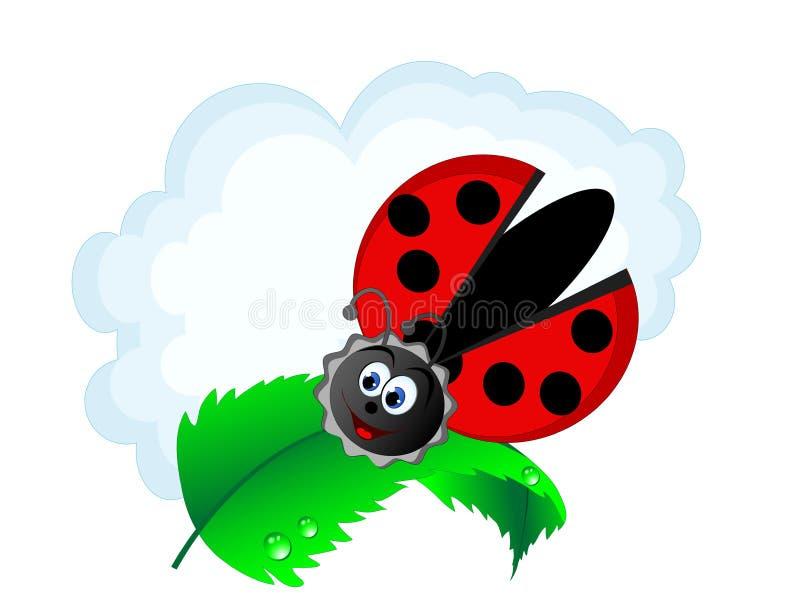 Onzelieveheersbeestje royalty-vrije illustratie