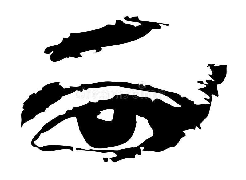 Download Oog vector illustratie. Afbeelding bestaande uit lichaam - 44110
