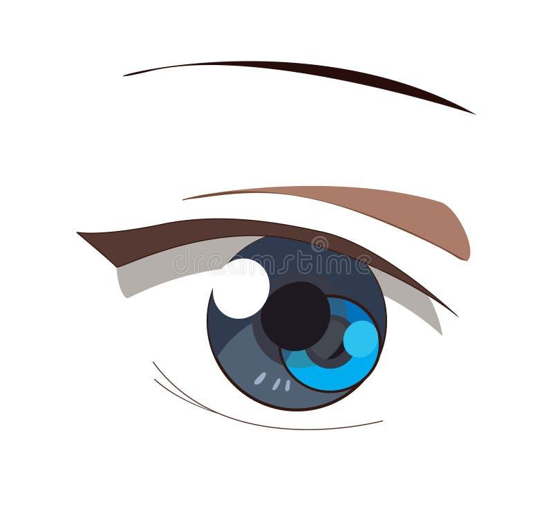 Oog vector illustratie