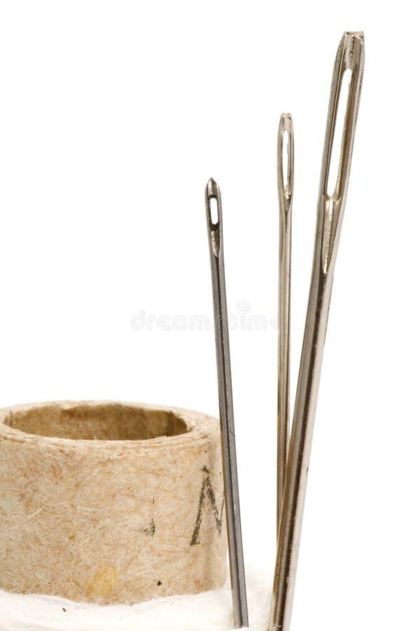 Oog drie van een naald stock afbeelding