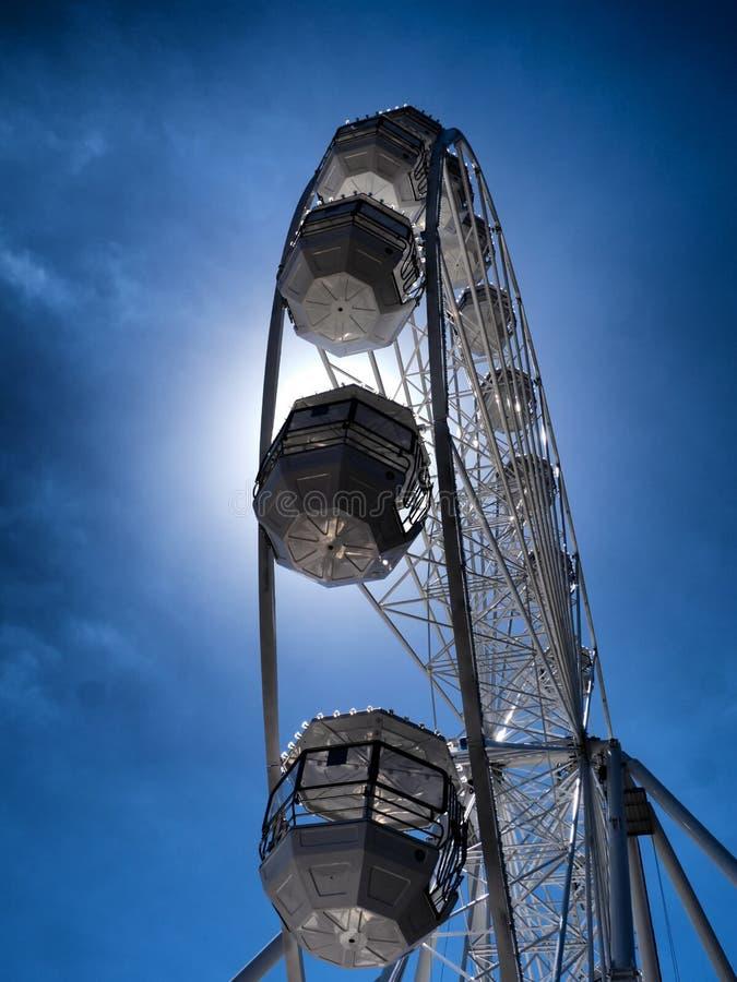 OOG of Ferris Wheel stock afbeelding