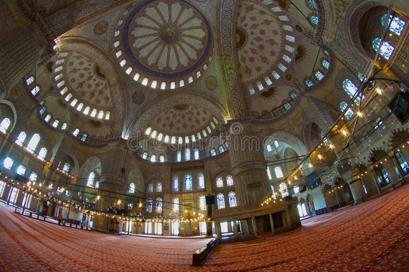Oog van de Moskeevissen van ISTANBOEL het Blauwe stock afbeeldingen