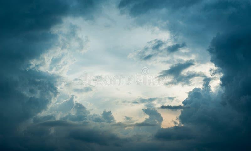 Oog van het Onweer stock foto's