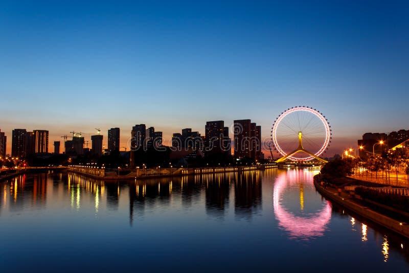 Oog van Tianjin royalty-vrije stock foto's