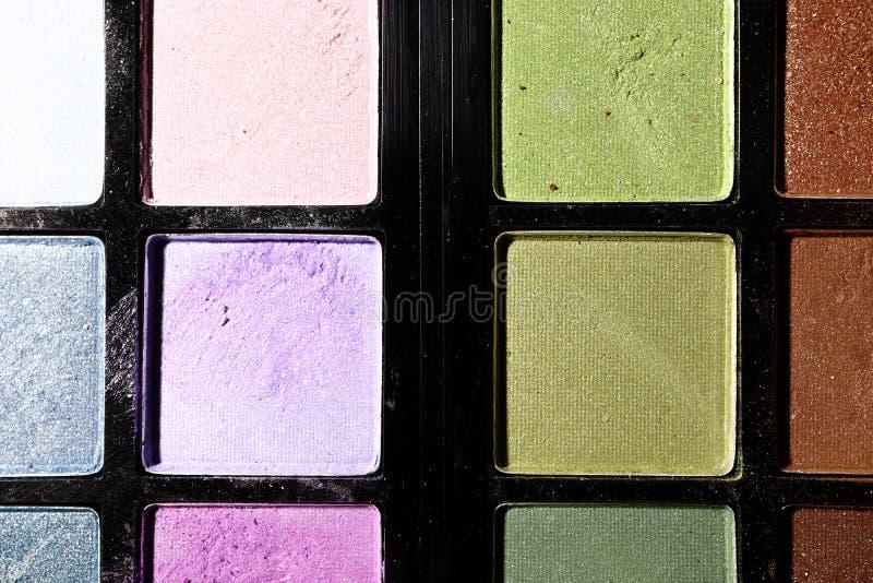 Download Oogschaduw Op Een Zwarte Achtergrond Sluit Omhoog Stock Foto - Afbeelding bestaande uit schoonheidsmiddelen, maak: 114227068
