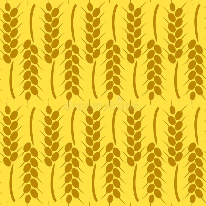 Oogstachtergrond voor de Herfst Naadloos patroon vector illustratie