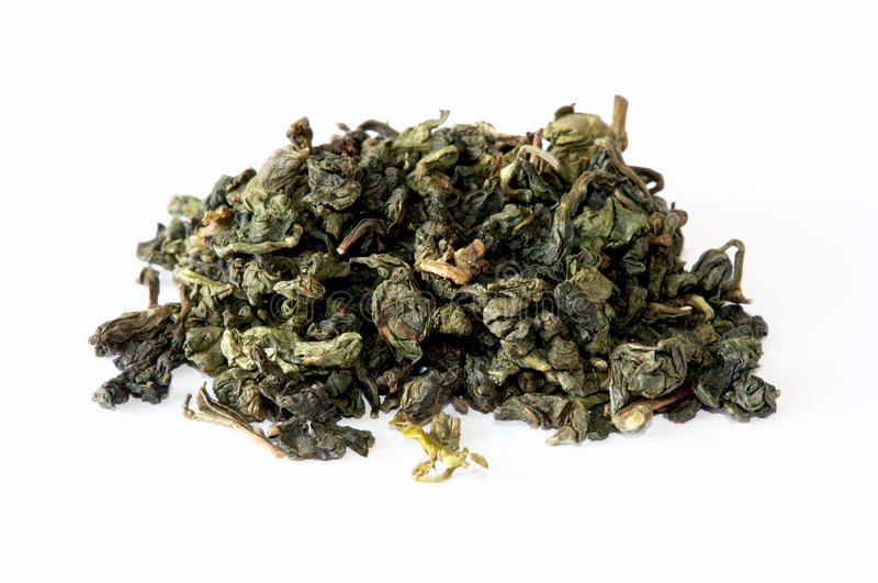 Oolong green chinese tea royalty free stock photos