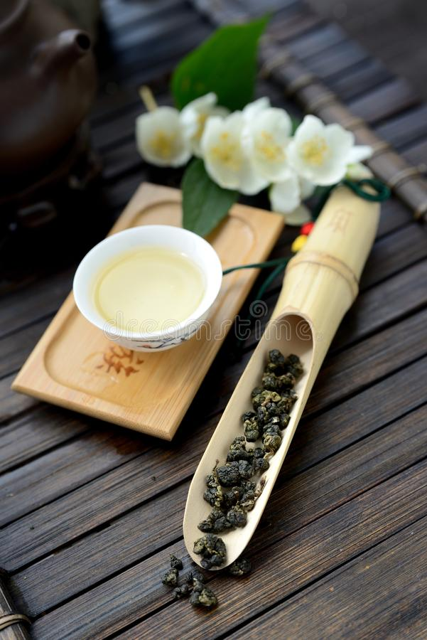 Oolong tea royaltyfri bild