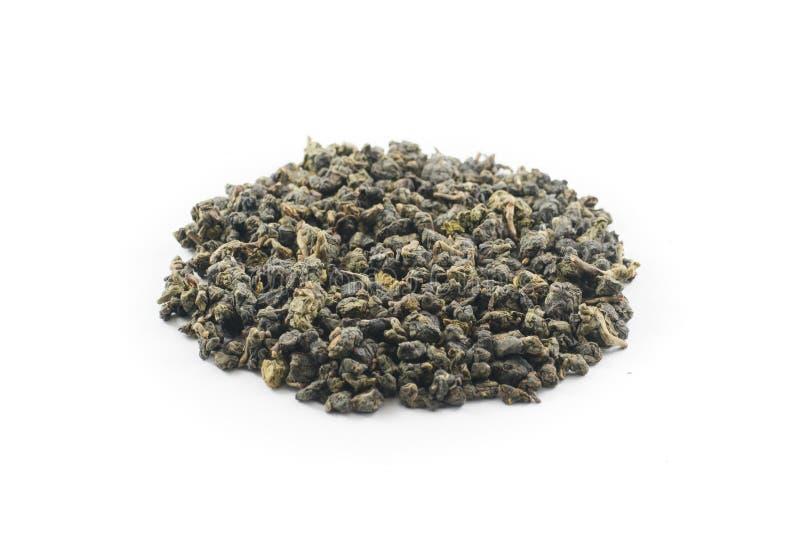 Oolong tea leaves royalty free stock photos