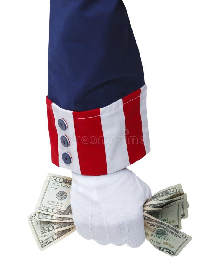 Oom Sam Tax royalty-vrije stock foto
