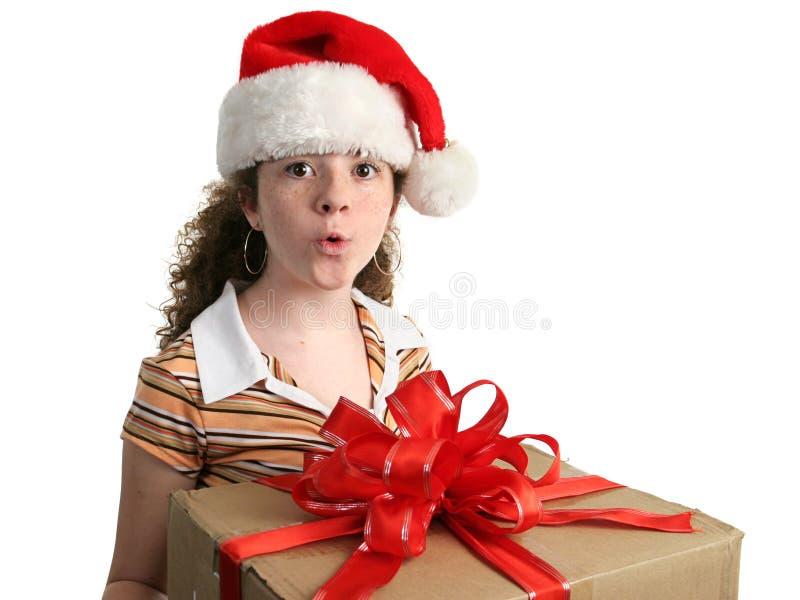 Download Ooooo un presente! immagine stock. Immagine di give, trasporti - 220399