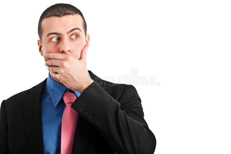 Download Oops stock image. Image of over, silence, isolated, expression - 23634555