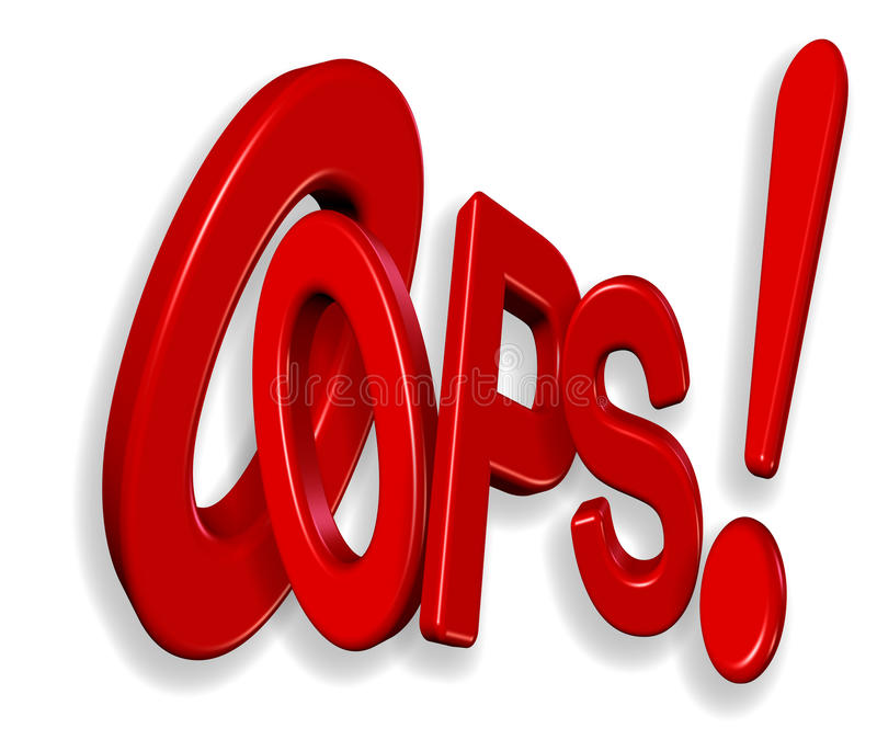 Oops !!!