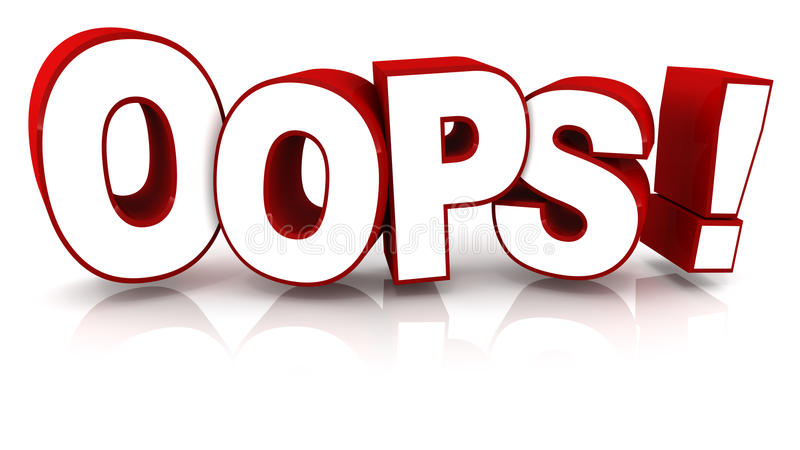 Oops Stock Illustrations – 5,204 Oops Stock Illustrations, Vectors ...