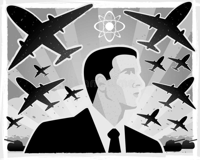 Oorlog stock illustratie