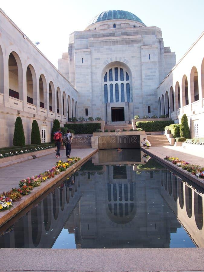 Oorlog Herdenkingscanberra Australië royalty-vrije stock fotografie