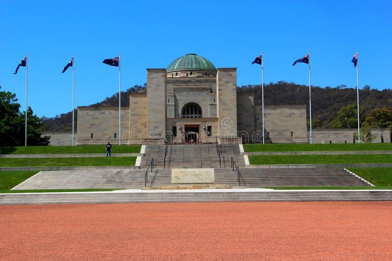 Oorlogsmuseum in Canberra, Australisch Hoofdgrondgebied, Australië royalty-vrije stock afbeelding