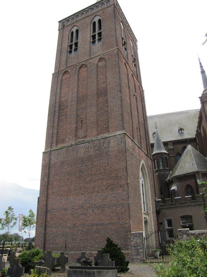 Oorspronkelijk een Nederlandse kasteeltoren, nu een museum stock fotografie
