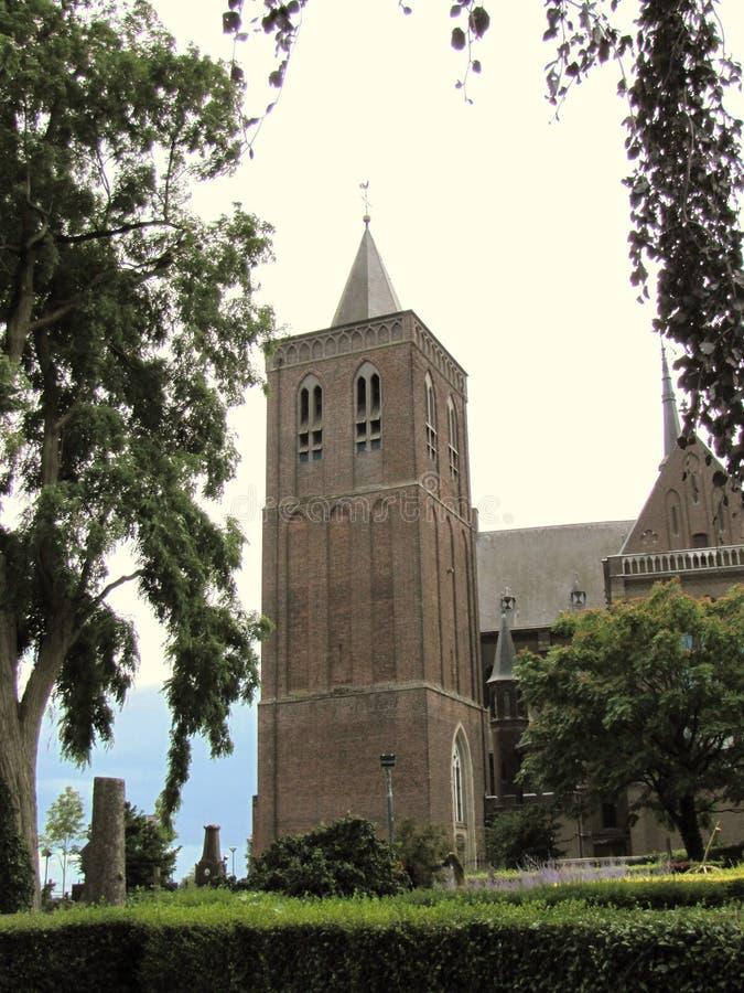 Oorspronkelijk een Nederlandse kasteeltoren, nu een museum stock foto