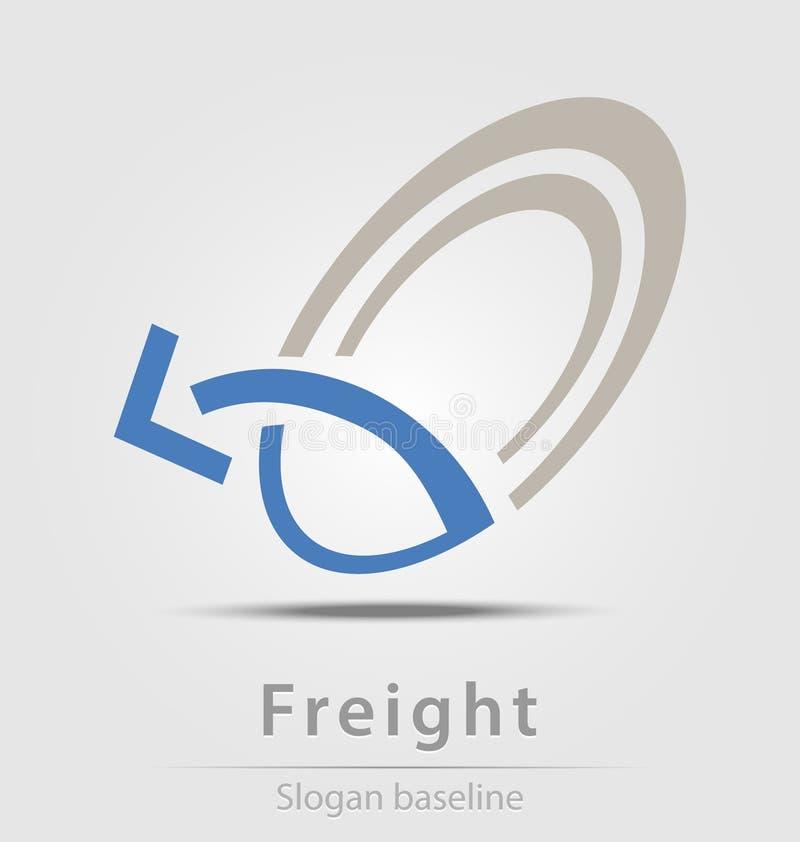 Oorspronkelijk gecreeerd vracht vector bedrijfspictogram stock illustratie