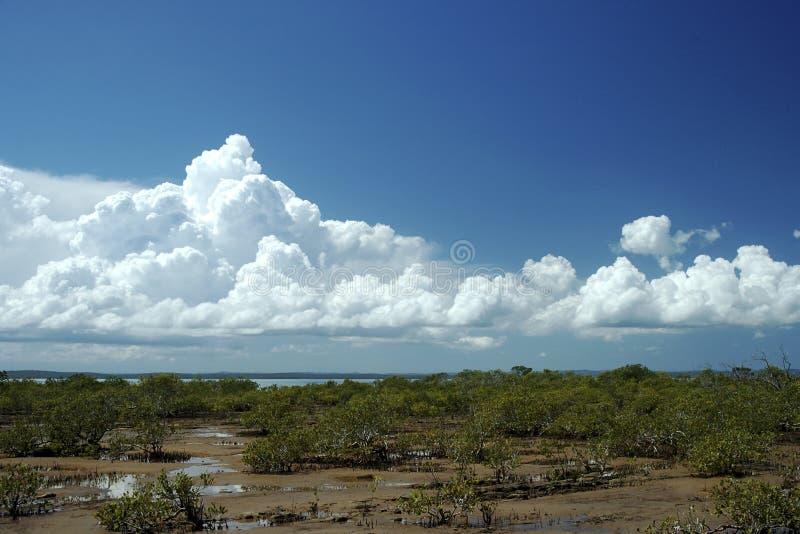 Oorspronkelijke Wolken stock afbeelding