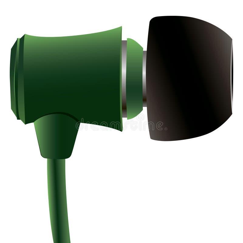 Oortelefoons stock illustratie