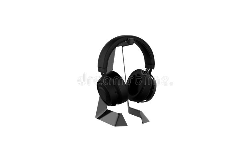 Oortelefoons royalty-vrije illustratie