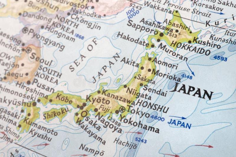 Oost- Azië met Japan royalty-vrije stock afbeelding