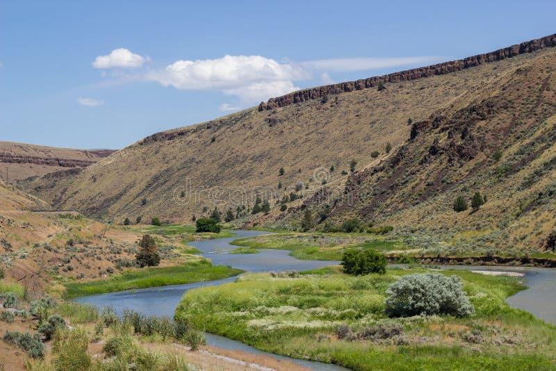 Oostelijk Oregon stock afbeelding