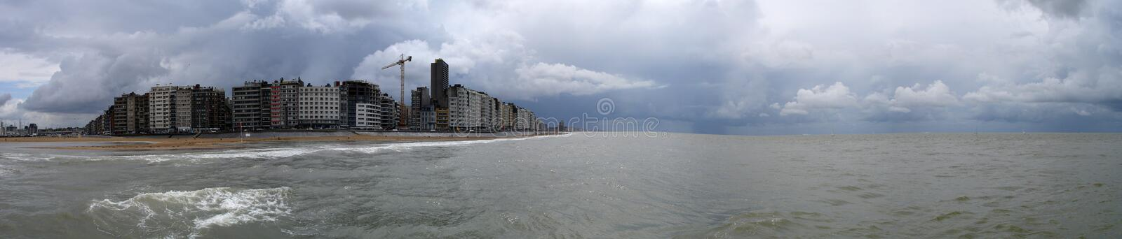 Oostende stock image