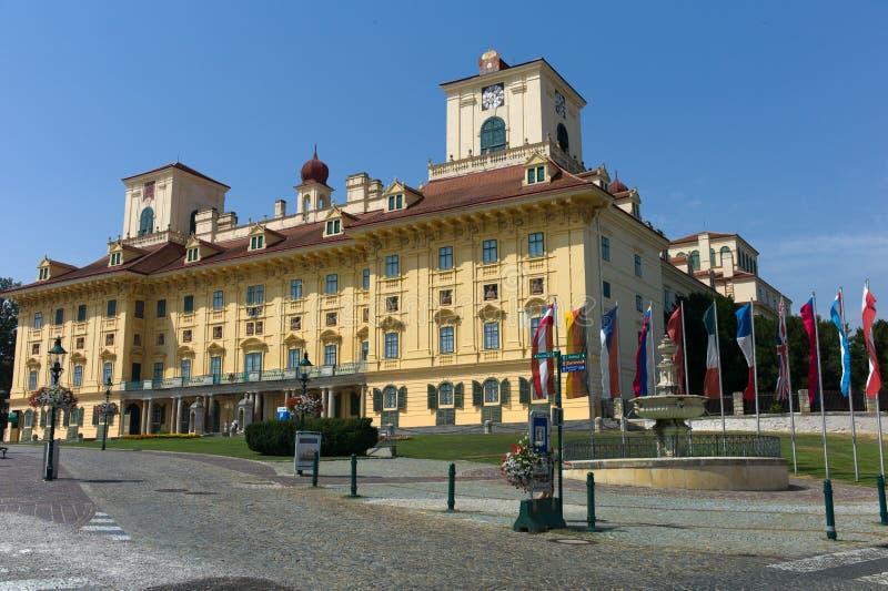 Oostenrijk, eisenstadt, esterhazy kasteel stock afbeelding