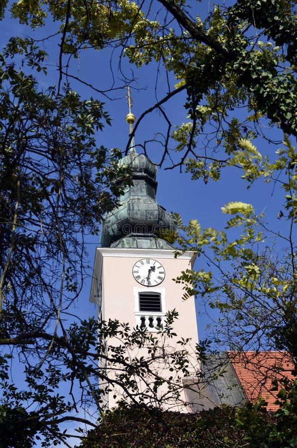 Oostenrijk, Kerk stock foto