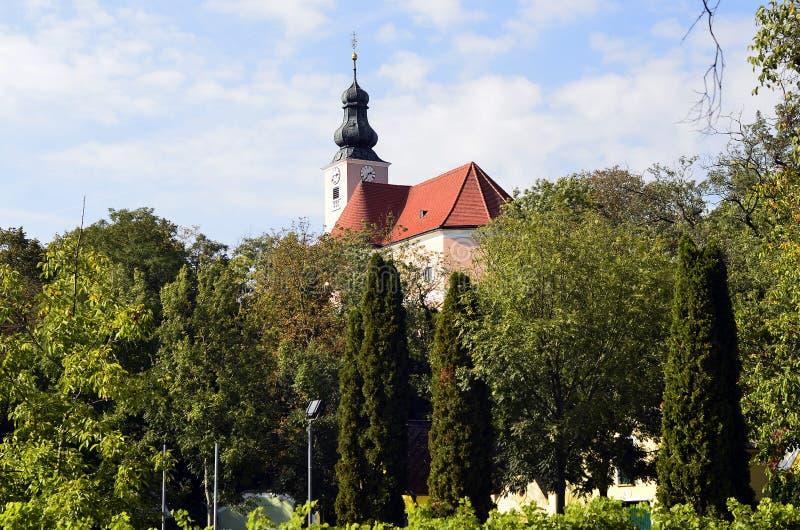 Oostenrijk, Kerk royalty-vrije stock fotografie