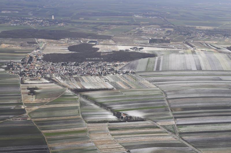 Oostenrijk, landbouw royalty-vrije stock afbeeldingen