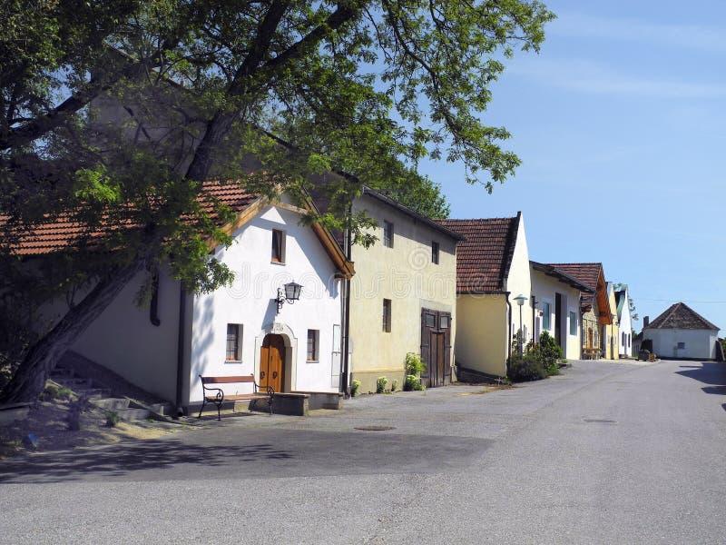 Oostenrijk, landelijk dorp in Lager Oostenrijk stock afbeeldingen