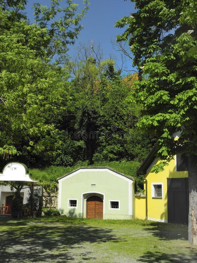 Oostenrijk, landelijk dorp in Lager Oostenrijk royalty-vrije stock foto's