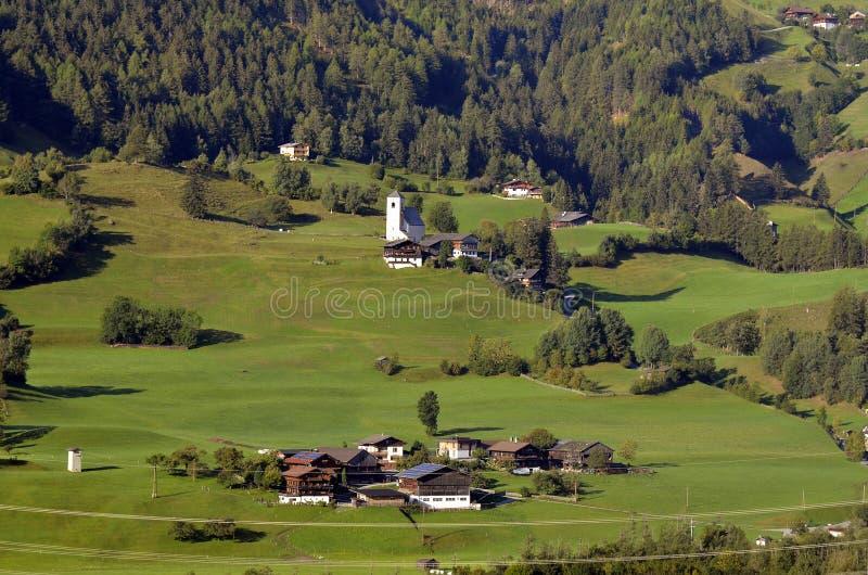 Oostenrijk, oosten-Tirol, Matrei royalty-vrije stock afbeelding