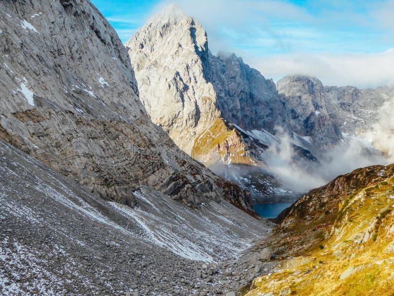 Oostenrijk - Oostenrijks Dolomiet stock foto