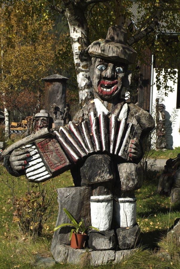 Oostenrijk, Osttirol, beeldhouwwerk stock fotografie